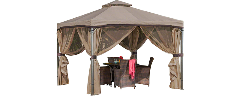 Christopher Knight Home Steel Frame Gazebo