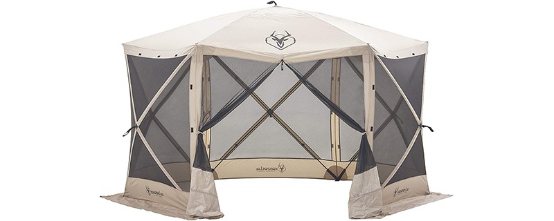 Gazelle Tents Six-Sided Gazebo
