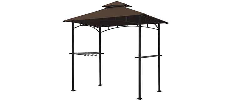 Keymana Ample Room Grill Gazebo