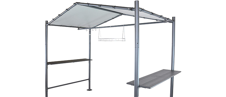 SORARA Open Design Grill Gazebo