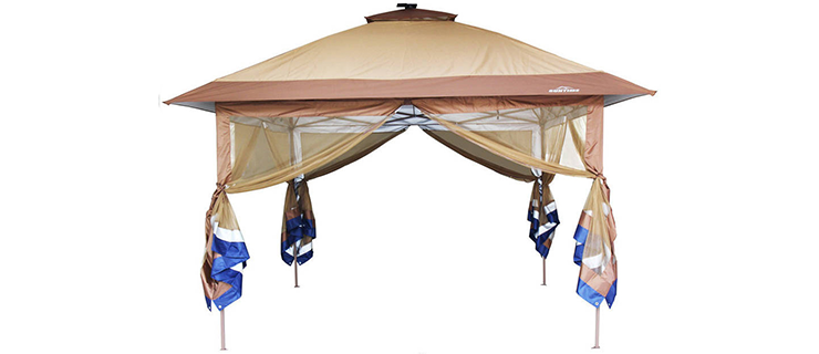 SunTime ST-1 Fully Enclosed Canopy Instant Popup Gazebo